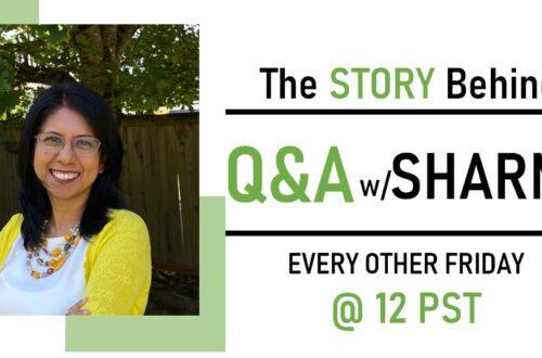 Q&A w/ Sharmin